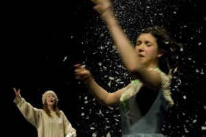 Mess preview, Warwick Arts Centre, photo: Alicja Rogalska