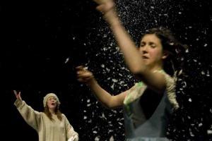 Mess preview, Warwick Arts Centre, photo: Alicja Rogalska